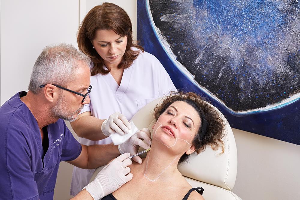 Workshop anatomia del terzo inferiore del volto, microbotox e nefertiti lift